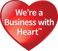 We're a Business with Heart™