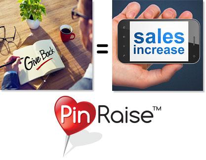 Give Back = Sales Increase